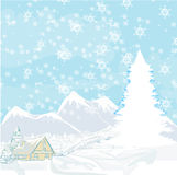 Winter landscape -  Royalty Free Stock Photography