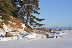 Winter landscape. Royalty Free Stock Photo