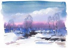 Free Winter Landscape Stock Photos - 46244103
