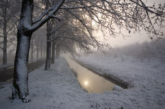 Winter landscape Royalty Free Stock Image
