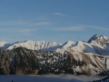 Winter landscape alps Royalty Free Stock Photo