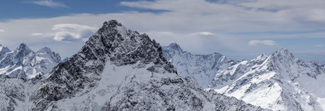 Winter landscape in the alps. Stock Images