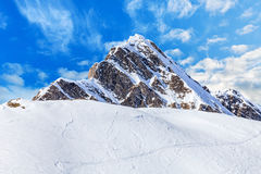 Winter landscape in Alps Stock Photos
