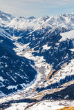 Winter landscape in Alps Royalty Free Stock Photo