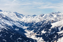 Winter landscape in Alps Royalty Free Stock Image