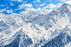 Winter landscape in Alps Royalty Free Stock Images