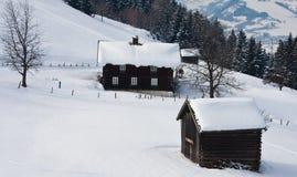 Winter landscape.  Austria Stock Image