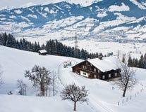 Winter landscape.  Austria Stock Photography