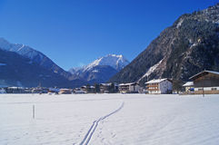 Winter landscape in Austria Royalty Free Stock Photo
