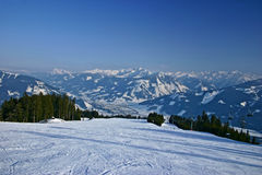 Winter landscape from Austria Stock Photography