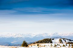 Winter landscape in Austria Royalty Free Stock Photography