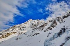 Winter landscape at Balea Lac Stock Image