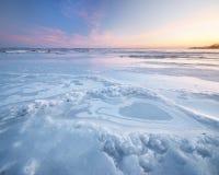Winter landscape. Royalty Free Stock Image