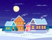 Winter landscape composition Stock Photo