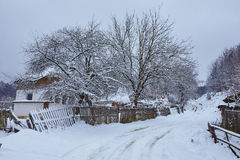 Winter landscape at countryside Royalty Free Stock Images