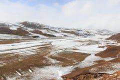 Winter landscape in Da Shan Bao mountains in Yunnan, China Stock Photos