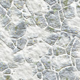 Winter landscape design from stones in grass. wallpapers pattern Stock Photos