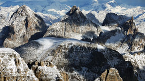 Winter landscape in the Dolomites Stock Photos