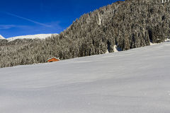 Winter Landscape, Dolomites Royalty Free Stock Photography