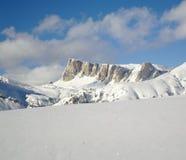 Winter landscape of Dolomites Stock Photography