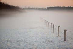 Mistic winter landscape Royalty Free Stock Photo