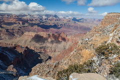 Winter Landscape at Grand Canyon Stock Photos