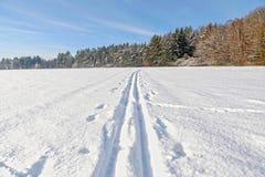 Winter landscape, HDR image Stock Image