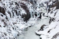 Winter landscape Iceland Stock Photography