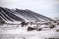 Winter landscape, Iceland Stock Images
