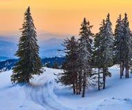 Winter Landscape in Madaras, Harghita, Romania. Winter Landscape in Madaras, Harghita Romania Stock Photo