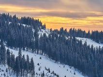 Winter Landscape in Madaras, Harghita, Romania. Winter Landscape in Madaras, Harghita in Romania Royalty Free Stock Photography
