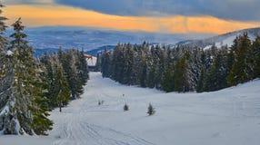 Winter Landscape in Madaras, Harghita, Romania. Winter Landscape in Madaras, Harghita Romania Stock Image