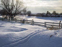 The winter landscape Royalty Free Stock Photo
