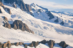 Winter landscape New Zealand Royalty Free Stock Images