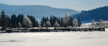 Winter landscape no.2 Royalty Free Stock Images