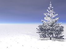 Winter landscape in northwest Stock Image