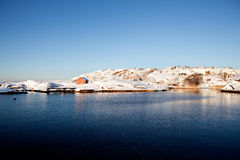 Winter Landscape Norway Stock Photography