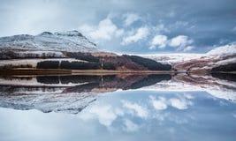Winter Landscape, Peak District - England Royalty Free Stock Image