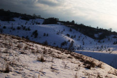 Winter landscape. Photo.landscape . additional formats not available Stock Photo