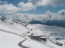Winter landscape with snow. Winter landscape snow blue europe austria stock photos