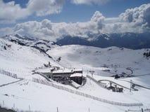 Winter landscape with snow. Winter landscape snow blue europe austria ski stock photo