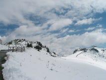 Winter landscape with snow. Winter landscape snow blue europe austria ski stock photos