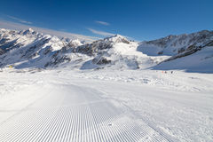 Winter landscape in Stubai, Austria Royalty Free Stock Photography