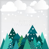 Winter landscape. Stock Photography