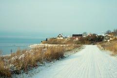 Winter landscape in Sweden Royalty Free Stock Images