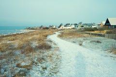 Winter landscape in Sweden Stock Photos