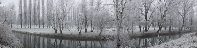 Winter Landscapes Stock Images