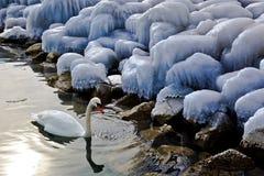 Winter-Landschaft Lizenzfreie Stockfotos