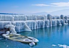 Winter-Landschaft Lizenzfreies Stockfoto