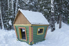 Winter-Landschaft. Lizenzfreies Stockfoto
